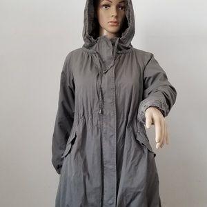 Comptoir des Cottoniers Hooded Gray Ciat, 38